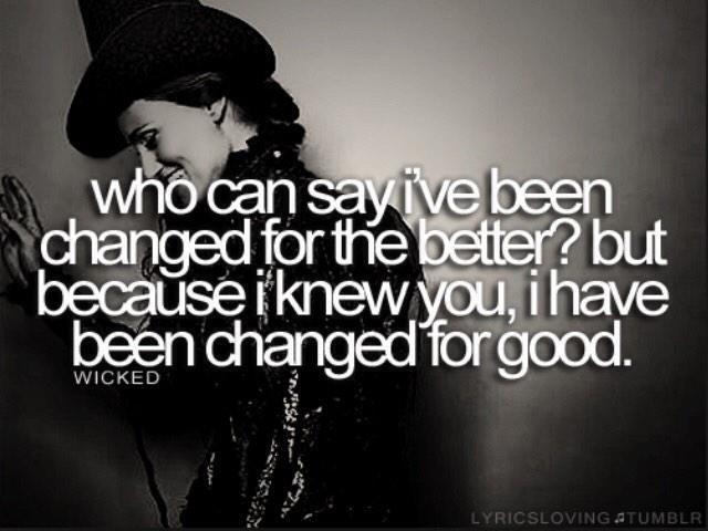 For Good Lyrics - YouTube