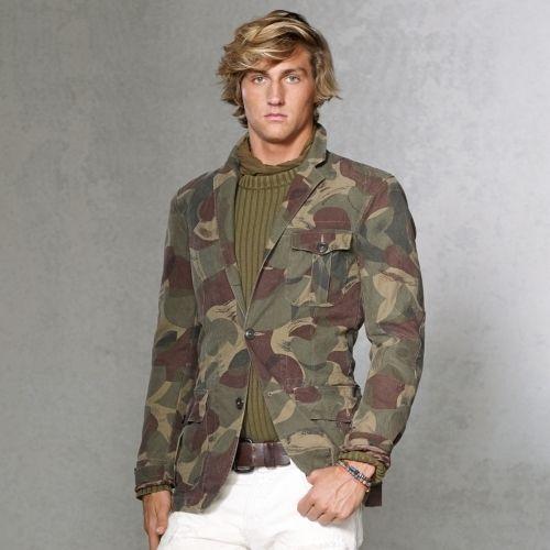 Desert Camouflage Sport Coat