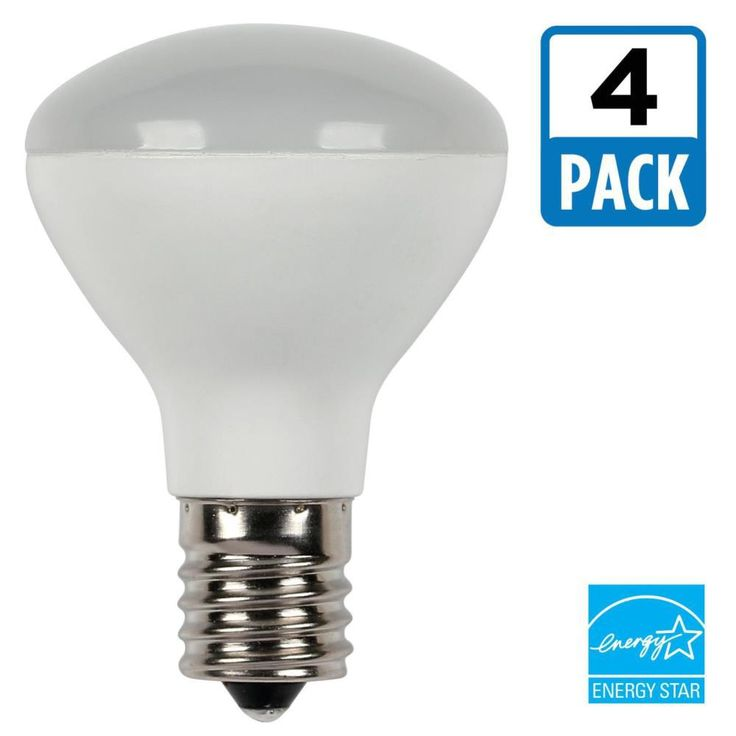 Westinghouse 25W Equivalent Soft White R14 Dimmable LED Light Bulb (4-Pack)