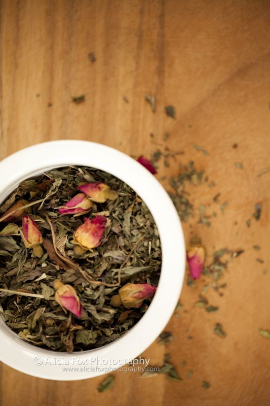 Mint and Rose Tea.  Anybody who knows me knows how much I love tea.  This is a shoot of herbal infusions blended by local Sydney tea masters, T Totaler