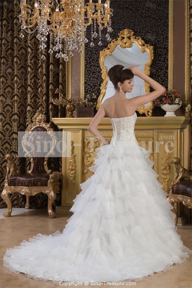 70 besten Wedding Dresses Bilder auf Pinterest | Hochzeitskleider ...