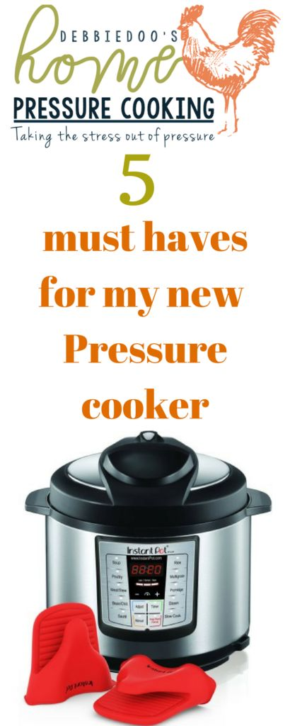 Must have accessories for the pressure cooker – Home Pressure Cooking