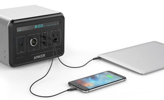 Anker Power Bank pode ser usada para recarregar celulares e tablets (Foto…