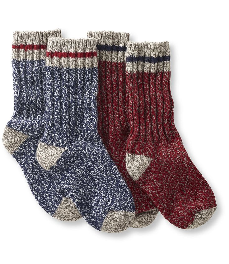 I really want some cute, worm, crew length socks. I really like these, and I'll post a few more examples! L.L. Bean Merino Wool Ragg Socks, $18.95 for 2 pairs #madeinusa #madeinamerica