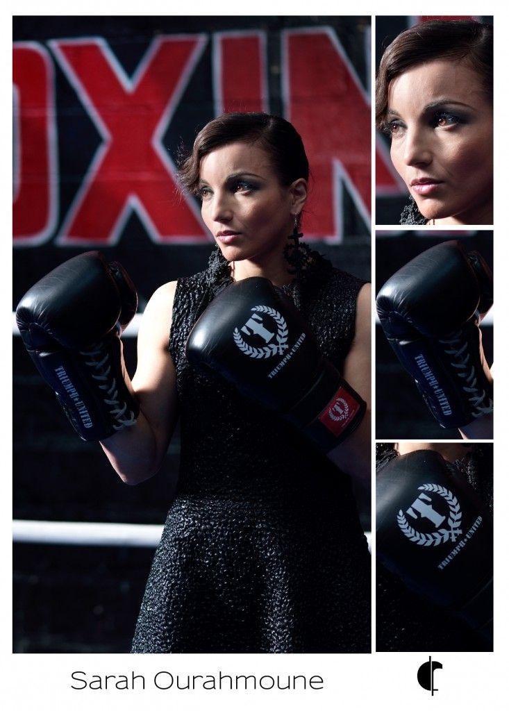 Ambassadrice de la marque #Fabienne Dimanov PARIS #by fdp: Sarah Ourahmoune (championne de monde de boxe).
