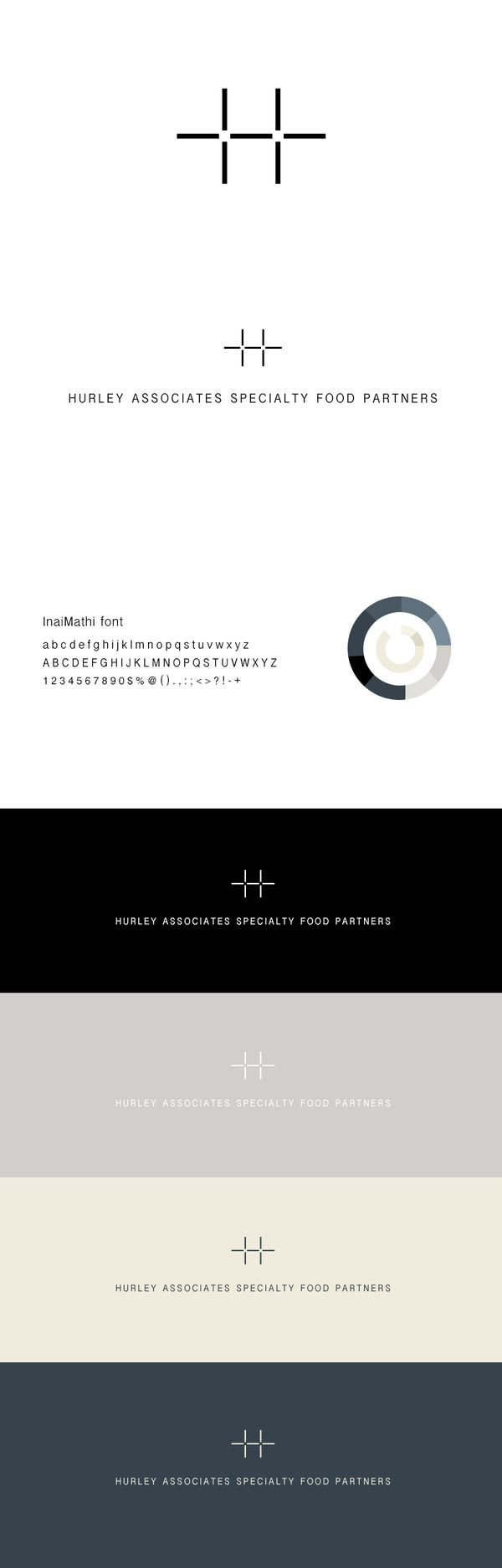 Modern, Smart + Versatile - #branding #identity   H . A . S . F . P by Tamara…