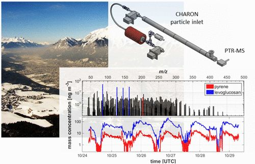 Direct Sampling and Analysis of Atmospheric Particulate Organic Matter by Proton-Transfer-Reaction Mass Spectrometry