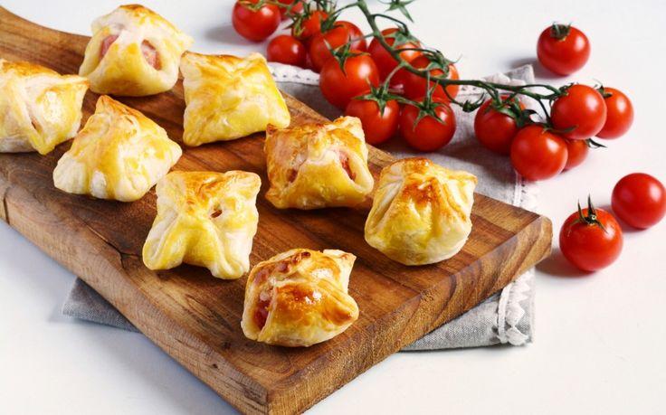 Fagottini di mozzarella