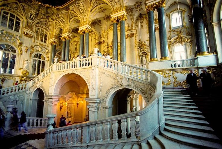 Jordan Staircase, Hermitage Museum, St. Petersburg, RussiaHermitage Russia, Petersburg, Hermitage Museums, Jordans Staircases