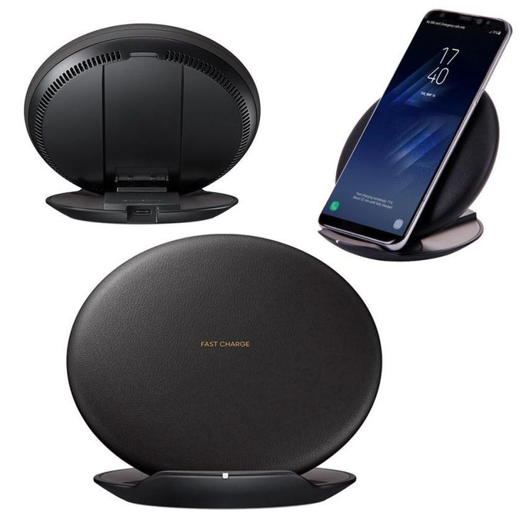 Universal Qi Standard Fast Wireless Charger 5V 2A Rapid Charging Stand Quick Charger