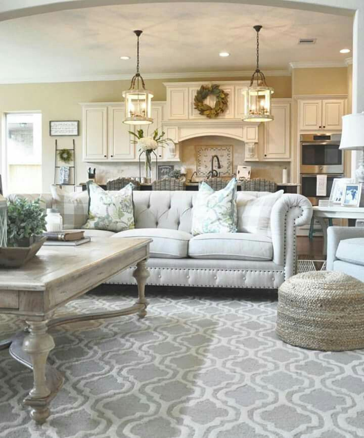 Love The Neutral Colors Used In Living Room