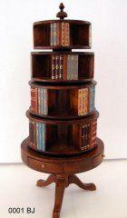 Revolving Bookcase - walnut