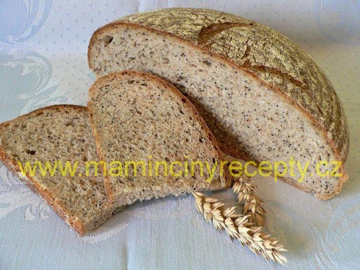 Makový chléb s otrubami