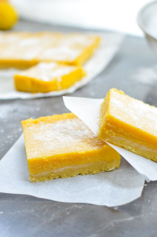 Mango Lemon Bars | Curried Cantaloupe
