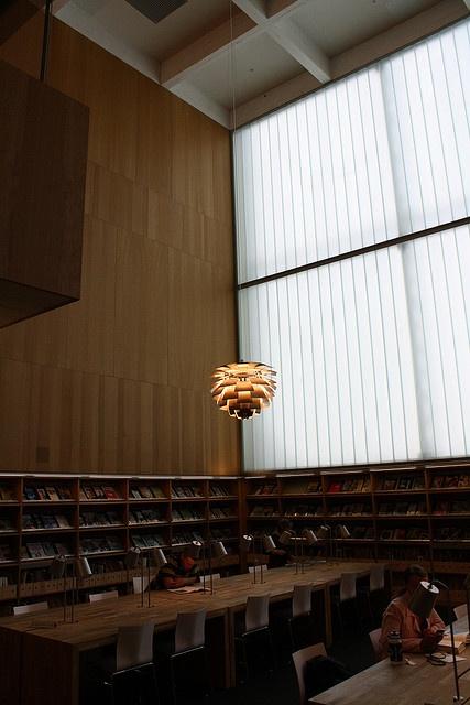 PH Artichoke (Poul Henningsen) at Turku City Library.