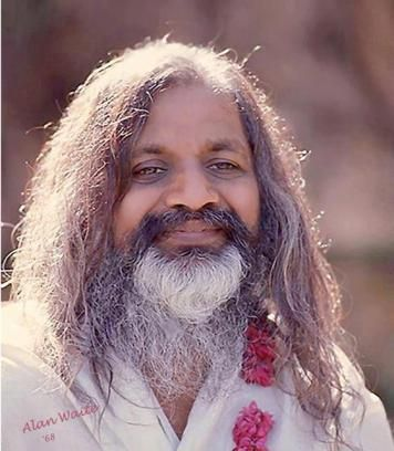 Maharishi Mahesh Yogi smile