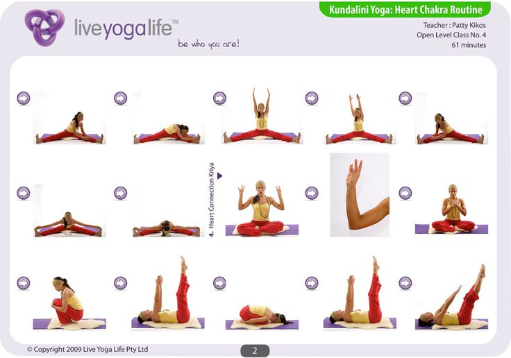 Kundalini Yoga Chakra Program - HEART CHAKRA ROUTINE - loved and pinned by www.omved.com
