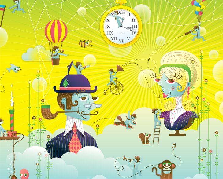 Illustration Style for Douglas Entertainment - illustration by Tobias Scheel Mikkelsen