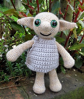 Dobby, the house elf:  Teddy Bears, House Elf, Crochet Stuff, Crochet Toys, Amigurumi Harry Potter, Potter Crafts, Crochet Creatures, Crochet Patterns, Crochet Dobbi