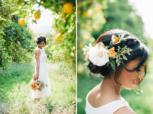 Sunny Citrus Wedding Inspiration | Green Wedding Shoes Wedding Blog | Wedding Trends for Stylish + Creative Brides