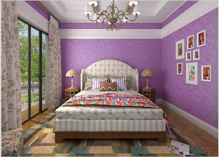 137 best purple bedrooms images on pinterest for Classy teenage bedroom ideas