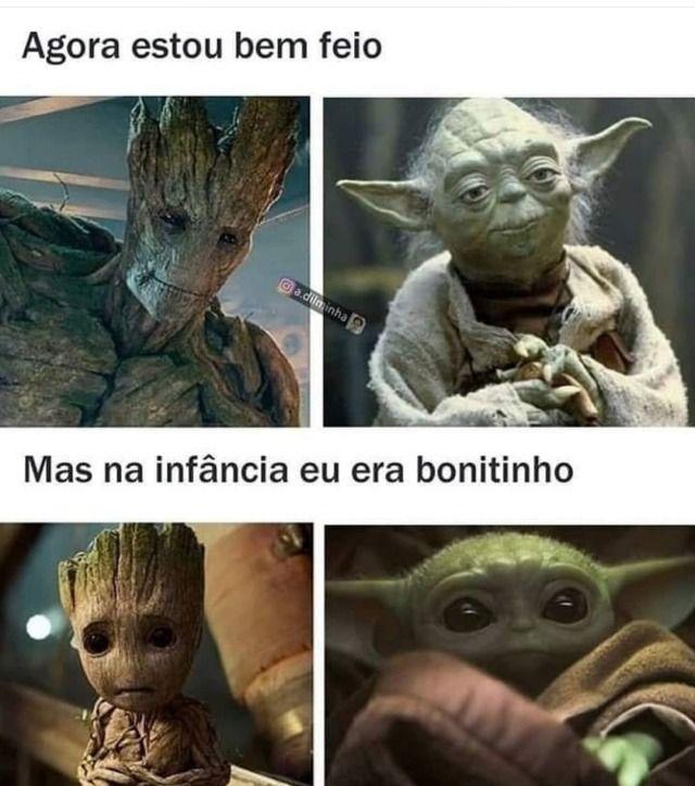 Uma Dose De Humor Por Favor Funny College Memes Yoda Meme Funny Relatable Memes