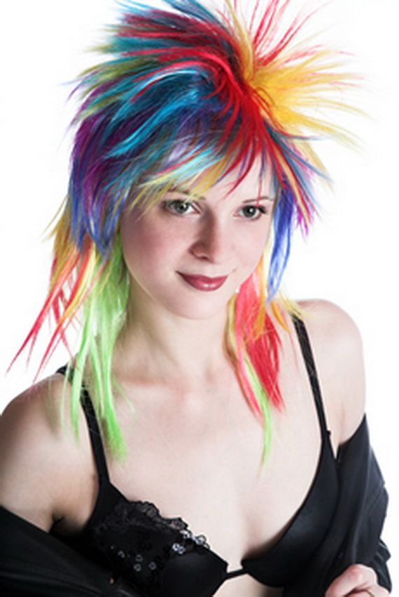 Outstanding 1000 Ideas About Punk Hair Color On Pinterest Bright Colored Short Hairstyles Gunalazisus