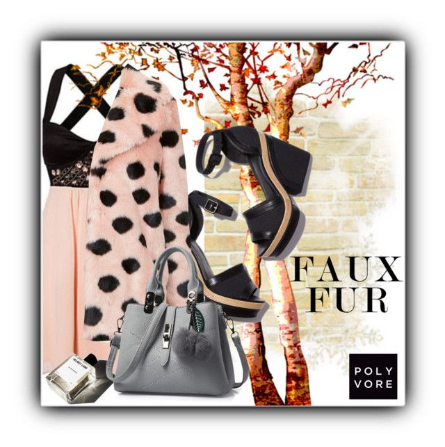 """""""Faux Fur"""" by lbiatch0105 ❤ liked on Polyvore featuring Pierre Hardy, Topshop, Garance Doré and fauxfur"""