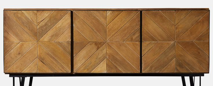 Swoon Editions Sideboard, parquet-style brimming with detail - £449