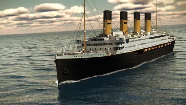 TITANIC II is set to launch in less than two years — not in movie theatres, but on the open sea.