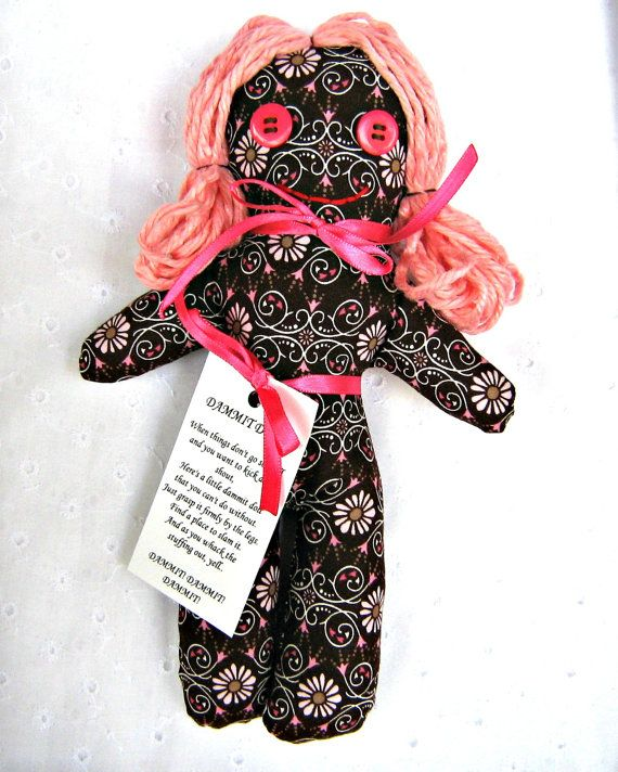 Knitting Pattern For Dammit Doll : 1000+ images about Dammit Dolls on Pinterest Turn blue, Stuffing and Stress