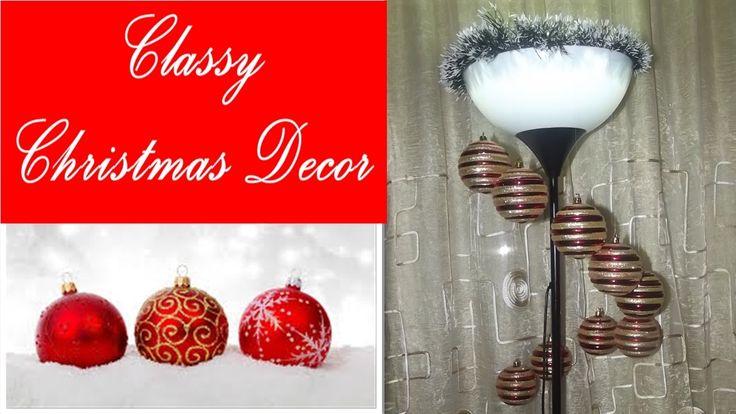Classy Christmas decor - Χριστουγεννιάτικο Διακοσμητικό