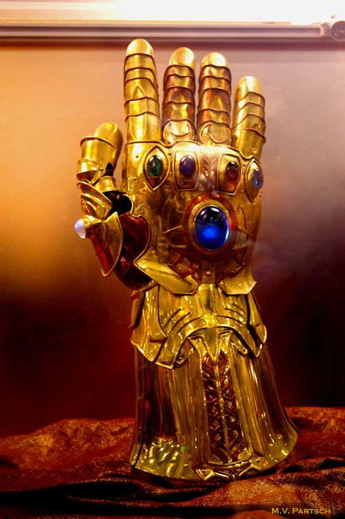 Wanted: Infinity Gauntlet. Working condition please. -Thanos