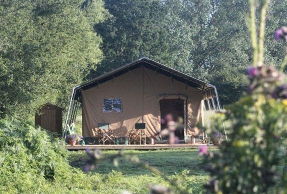 Family-friendly glamping holidays in spacious and fully equipped safari tents, with exclusive use of a private fishing lake deep in the wilds of sunny Kent.