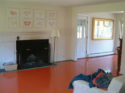 How To:  Paint Your Floors and Not Screw it Up
