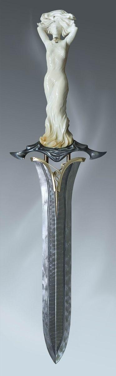 Lady Dagger. Roger Bergh. Custom Made Knives