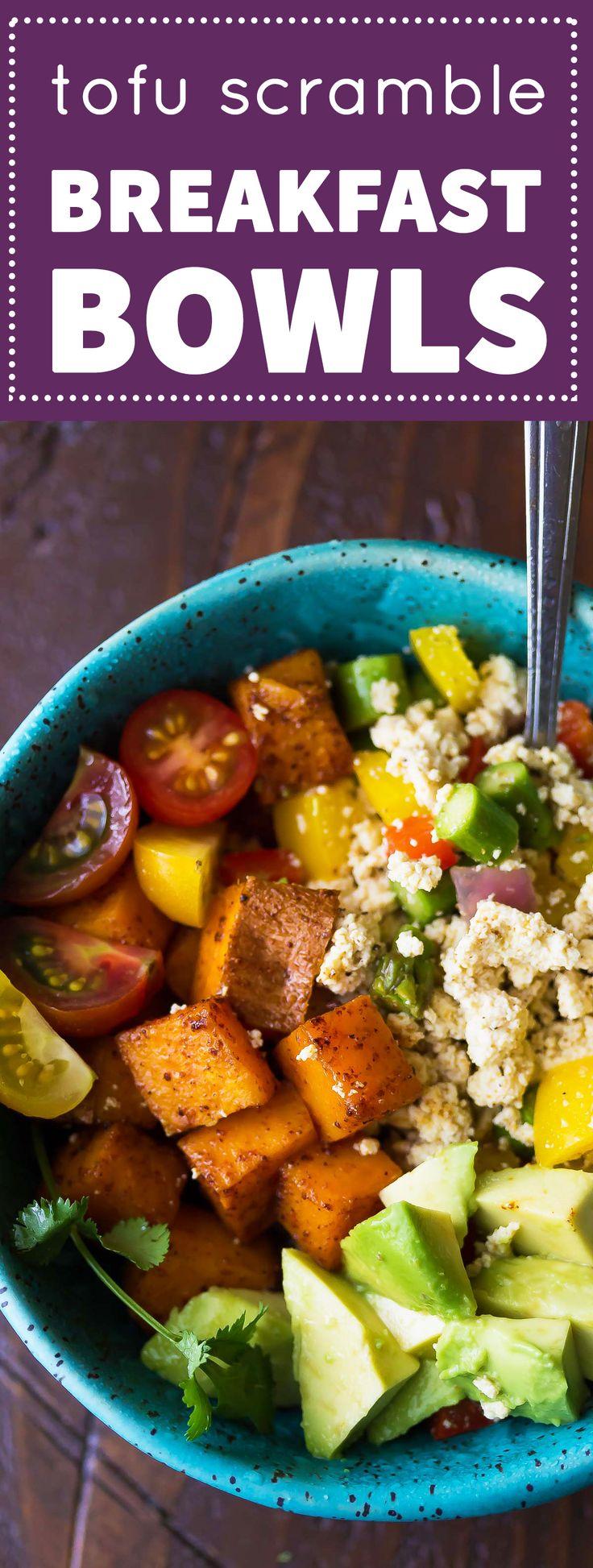 Tofu scramble, Tofu and Breakfast on Pinterest