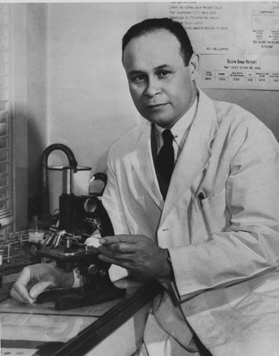 Dr. Charles Drew, Surgeon, medical researcher. IRONICALLY HE PERFECTED BLOOD TRANSFUSIONS AND DIED IN AN AUTOMOBILE ACCIDENT COZ THE NEAREST HOSPITAL WAS WHITE AND REFUSED HIM COZ IT WAS THE DEEP PRIMITIVE SOUTH..