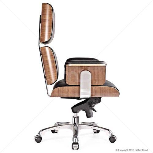 Eames office replica executive chair interior for Eames chair replica uk