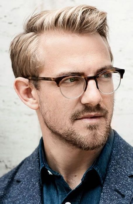 The Best Haircuts For A Receding Hairline: Classic Side Parting #menshairstyles #menshair #recedinghair