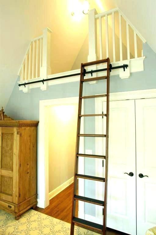 Loft Stairs Ideas Ladder Permanent Home Interior Steps