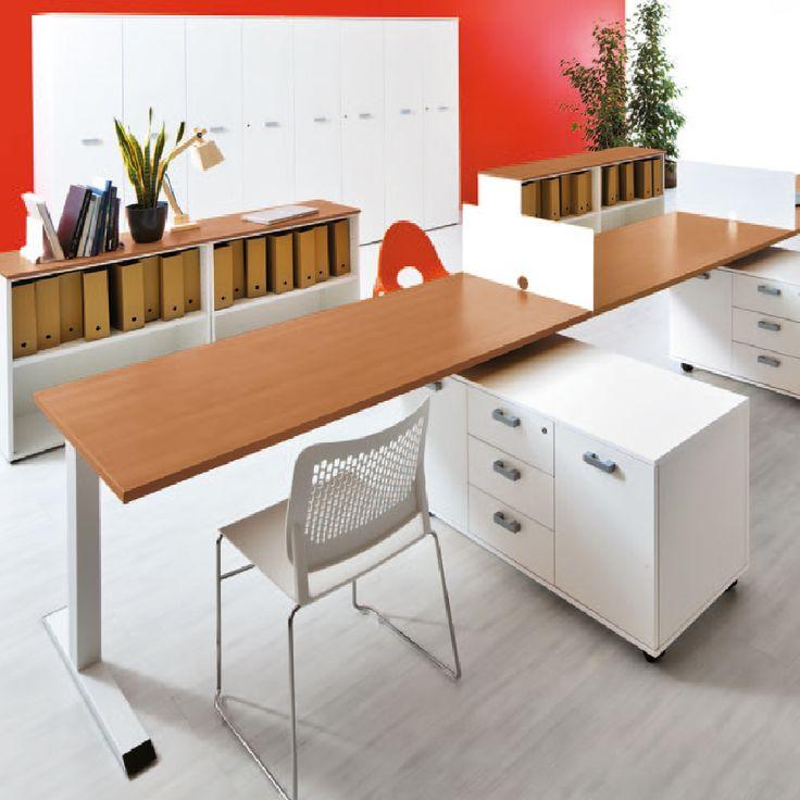 Nuestra línea Eidos Evo cuenta con un sistema flexible para las exigencias de las oficinas de hoy en día, creando ambientes de trabajo agradables, creativos y funcionales. #qualcomm #office #furniture #work