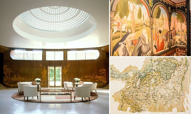 It was the childhood home of Henry VIII but has become just as famous for its recent colourful residents, the Courtaulds, who turned Eltham Palace into an Art Deco haven in the 1930s.