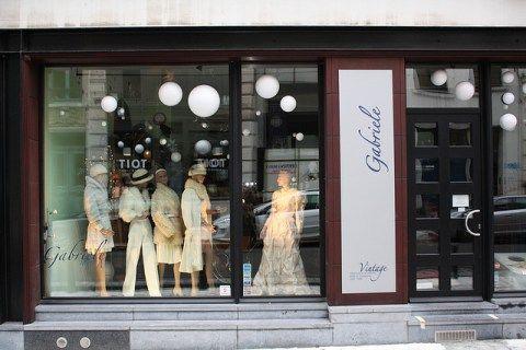 Gabrielle, tienda vintage en Brusleas (Dansaert)