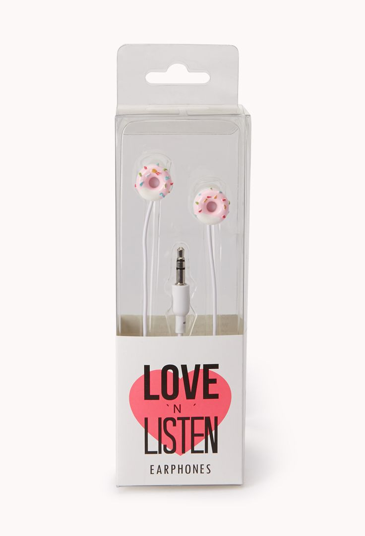 Sugartown Donut Earphones | FOREVER21 Donuts? Yes please! #ForeverHoliday #WishPinWin #Tech #Accessories