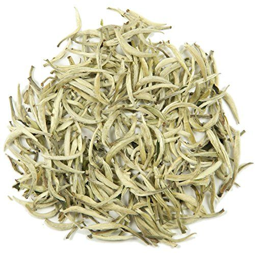 Silver Needle Loose Leaf Tea  Hong Kong Tea Company Sourced Premium AAA Grade Fine WhiteGreen Tea  6oz * To view further for this item, visit the image link.