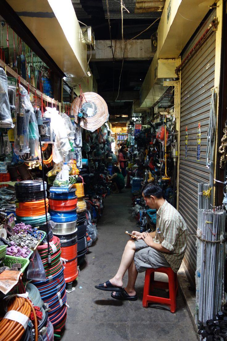 Market. Phnom Penh. Cambodia.