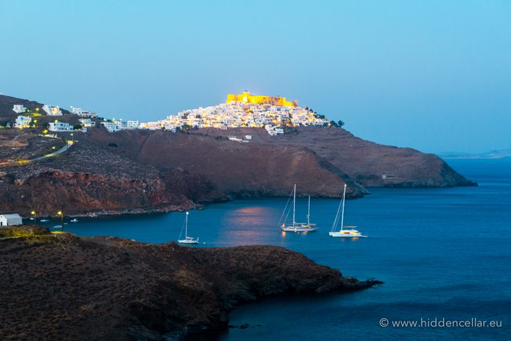 When the sun goes down the Magic begins! ‪#‎astypalaia‬ ‪#‎greece‬ ‪#‎travel‬ photo: http://hiddencellar.eu