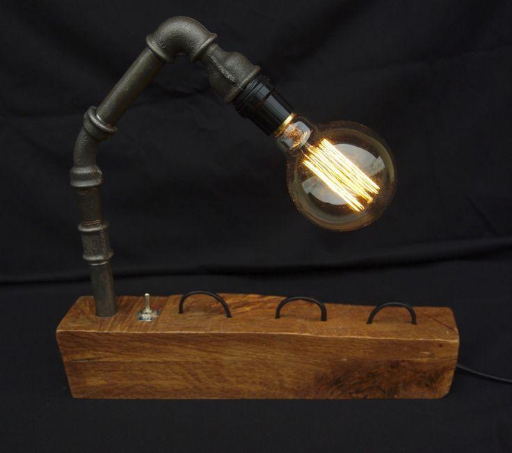 LAMPE STYLE INDUSTRIEL - VINTAGE - STEAMPUNK : LE LOCH NESS