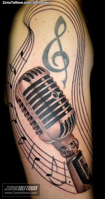 Tatuaje de micrófono hecho por George de Barcelona (España). Si quieres ponerte en contacto con él para un tatuaje o ver más trabajos suyos visita su perfil: http://www.zonatattoos.com/tattoosbes  Si quieres ver más tatuajes o diseños de micrófonos visita este otro enlace: http://www.zonatattoos.com/tag/498/tatuajes-de-microfonos  #tatuajes #tattoos #ink #micrófonos